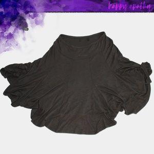 Coldwater Creek Flowy Black Skirt